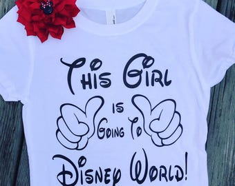 This Girl is Going to Disney Shirt This Guy Going to Disney My First Disney Trip Shirt Disney Shirt Mickey Shirt Disney World Disneyland
