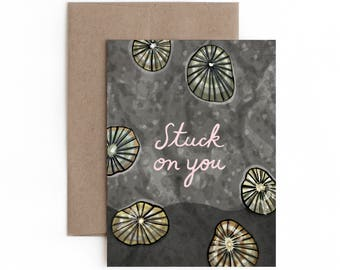 Stuck on You Card / Valentine's Day / Made in Hawaii