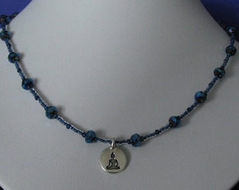 Crystal Ori Buddha necklace