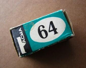 Old vintage soviet photo film camera roll unused