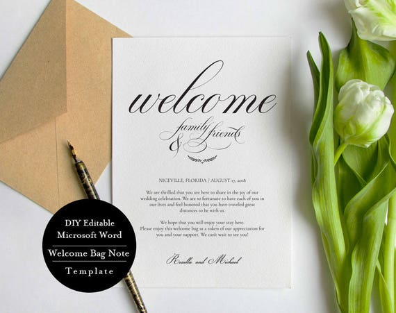 Wedding welcome bag note welcome bag letter template spiritdancerdesigns Choice Image
