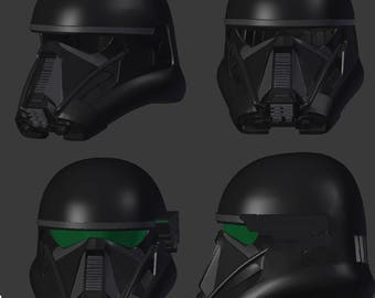 death trooper helmet 3d printer file