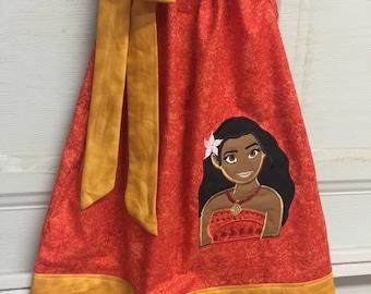 A beautiful Moana Pillowcase Dress