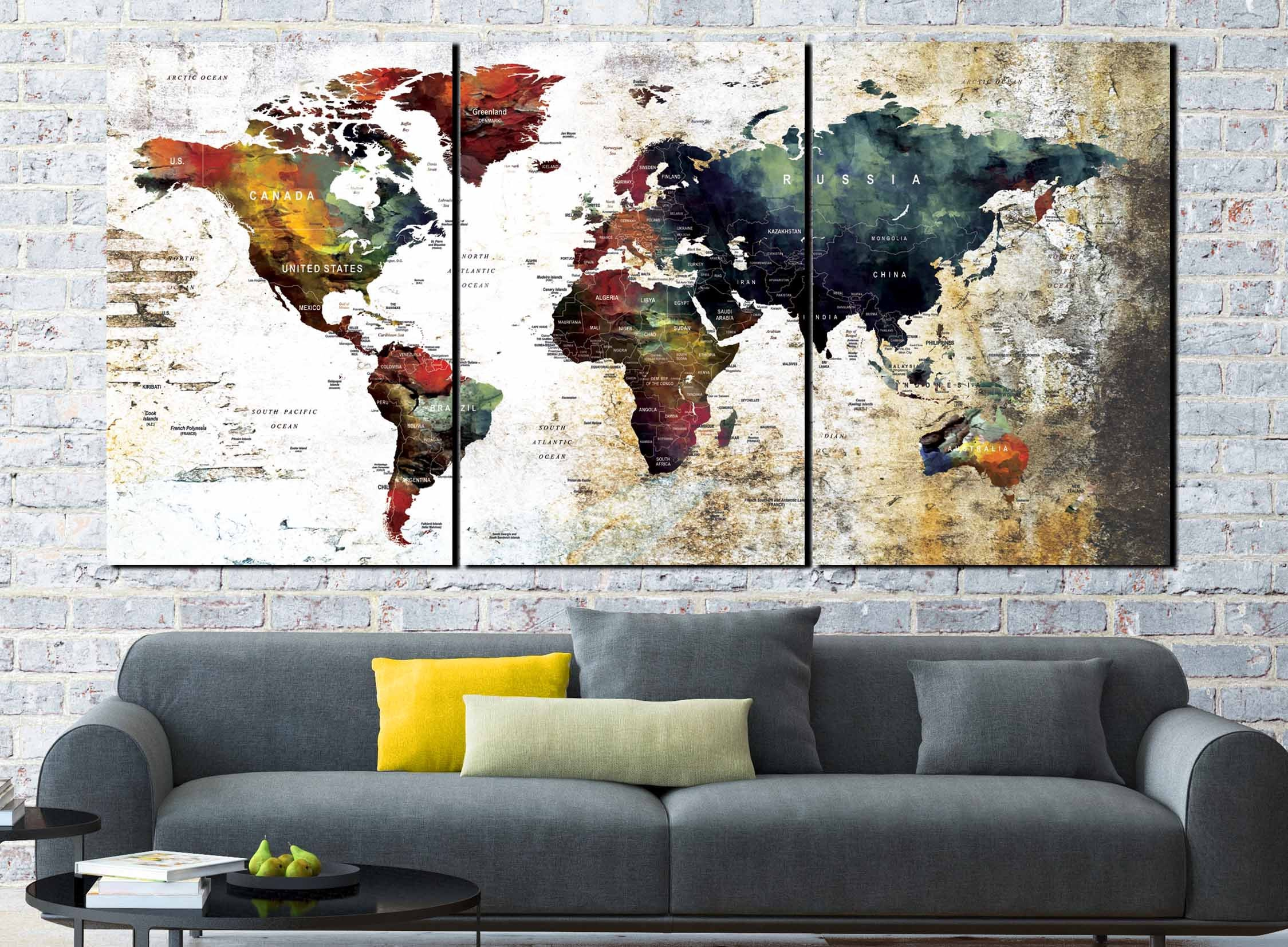 World map abstractworld map wall artworld map artworld map canvas world map abstractworld map wall artworld map artworld map canvasmap artworld map canvas artworld map vintageliving room map artmap gumiabroncs Choice Image