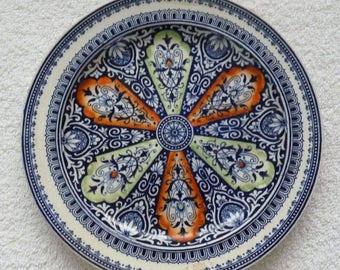 Antique 19th Century Minton Aesthetic Movement Dinner Plate
