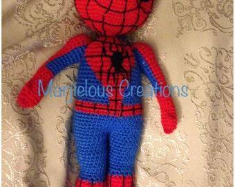 Super Hero Spider crochet pattern