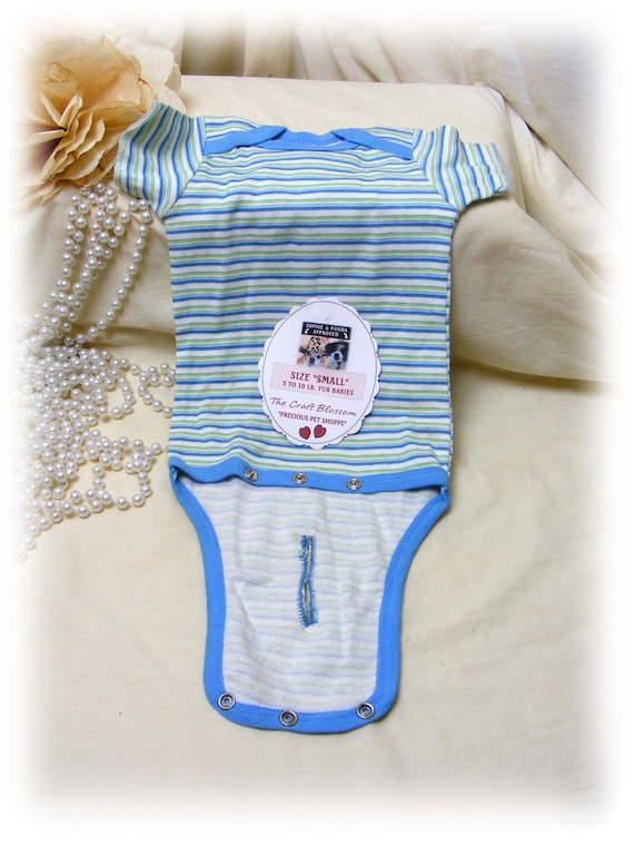 "Boy Fur Baby (SMALL) ""ONESIE"" . . From Baby Clothes . . . (Custom Clothes Orders Welcome)"