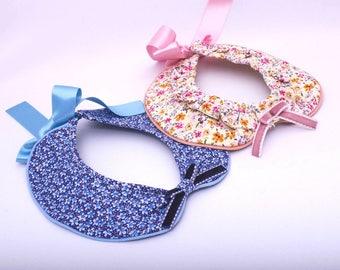 Peter Pan collar floral girl color choice