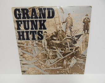Grand Funk Hits with Booklet Vinyl Record LP
