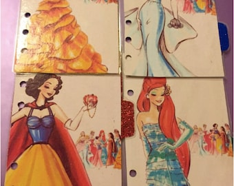 D2 // Disney Princess Dividers (Set 1)