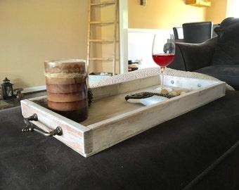 Wooden TV Tray, Ottoman Tray, Custom Wooden Ottoman Tray, Remote Tray,  Drink Tray, Serving Tray, Organizer, Living Room Decor, Home Decor