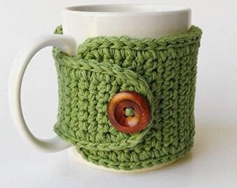 Crochet Cup Cozy, Crochet Mug Cozy, Tea Gift, Coffee Gift, Office Gift, Teacher Gift