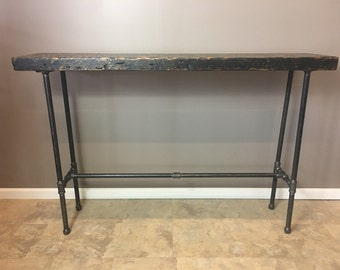 Entry Table, Hallway Table, Nook Table,36 Inch High ,Counter Height Wood