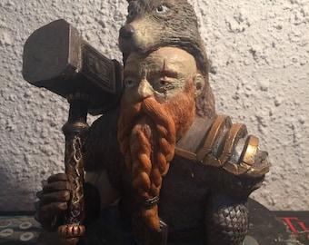 Ulvbane warhammer dwarf - lotr - middle earth - d&d -