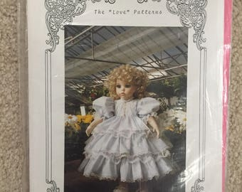 "Angela Eoriatti Doll Patterns: 24"" Birthday Doll Dress"
