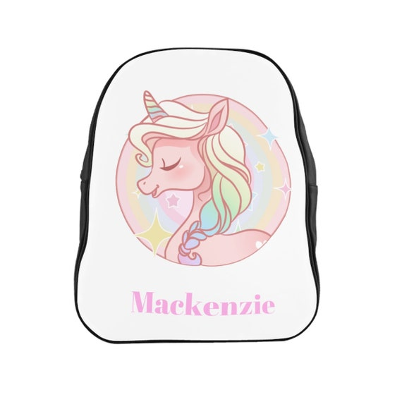 Personalized Unicorn Backpak
