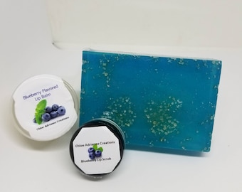 Vegan Blueberry Skin Care Set
