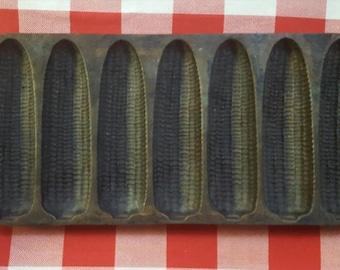 Vintage Lodge Cast Iron Cornbread Pan