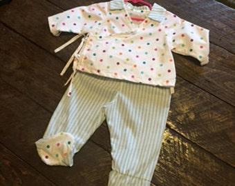 Infant pajamas size xsmall
