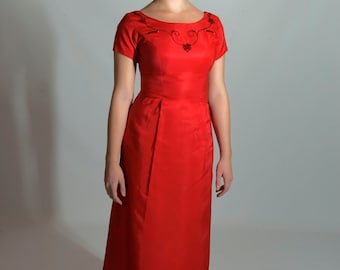 Vintage Prom or Bridesmaid Dress, S, 1960s