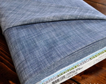 "Chambray Fabric - House of Denim - Chambray Union - Robert Kaufman - CCCX-14116-62 INDIGO- 57"" Width - Select Your Length"