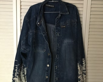 Acid Bleached Outkast Denim Jacket