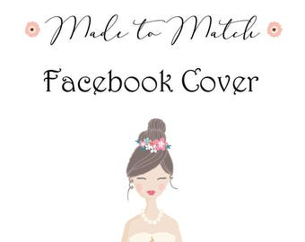 Made to Match Facebook Cover, Pick Any Design On My Shop To Get A Matching FB Cover