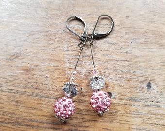Cassiopeia rhinestone earrings
