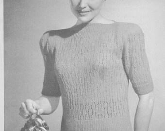 Matinee 1940 Jumper