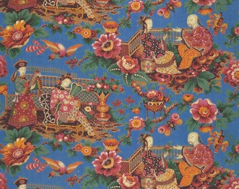 antique french chinoiserie wallpaper design illustration digital download