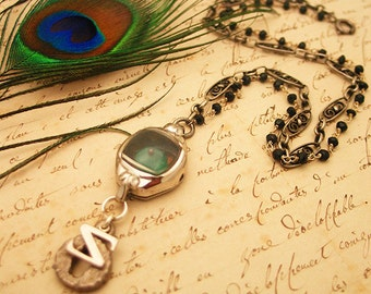 Emerald City Watch Necklace