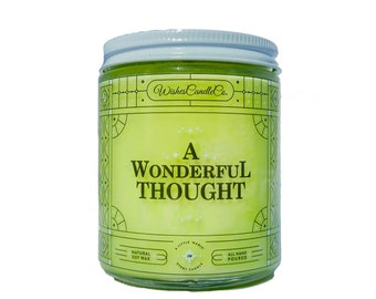 A Wonderful Thought Candle With Free Pin Inside