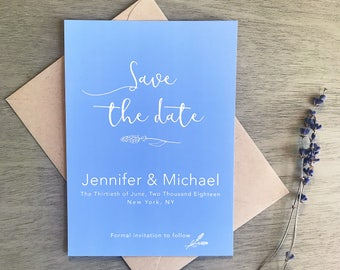 Save The Date - Blooming with Love Collection