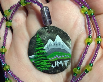 John Muir Trail beaded necklace