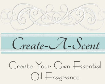 Create-A-Scent 10 mL Gold Atomizer, Natural Perfume, Natural Cologne, Custom Blend Perfume, Essential Oils, Custom Perfume