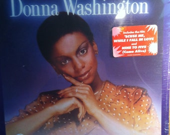 Donna Washington Going For The Glow Sealed vinyl Disco Soul Record Album