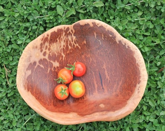 Australian Wood Bowl Red gum burl bowl - Ecofriendly - Hand-made in Australia