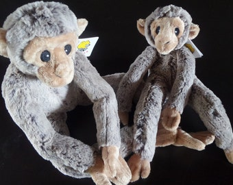 Stuffed monkey - Rascal - 2 sizes