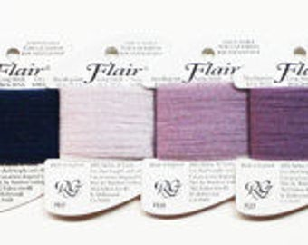 Flair Yarn, Rainbow Gallery Flair, Needlework, Tubular Threads, Novelty Yarns, Novelty Threads, Needlework Yarns, Needlepoint Thread Flair