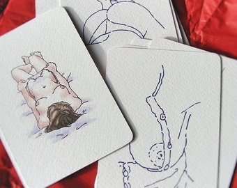 14 postcards box