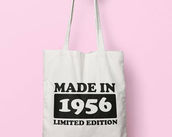Made In 1956 Limited Edition Tote Bag Long Handles TB1719
