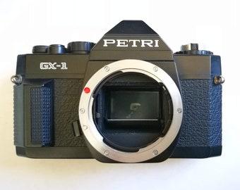 Petri GX-1 with New Light Seals. Ready-To-Use Vintage 1980s Pentax K/PK Mount SLR Camera Body
