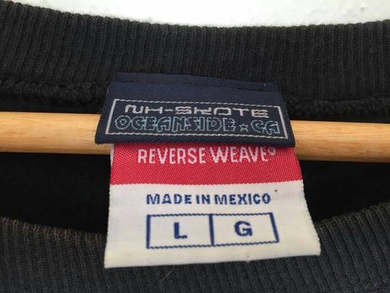 Neighborhood Small Champion Pullover Sweatshirt Logo Jumper Skateboards Rare X dIw6IT