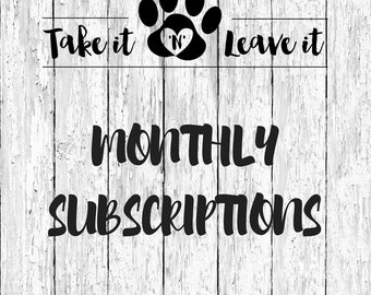 Monthly Subscription - New Shirt Every Month!