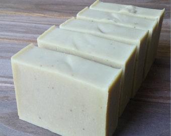 Olive + Argan Bastille Soap | Olive Oil Soap | Argan Oil Soap | Herb Infused Soap | Herbal Soap | Unscented Soap | All Natural Cold Process