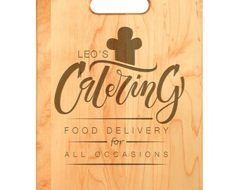 Personalized Cutting Board - Laser Engraved Maple Cutting Board