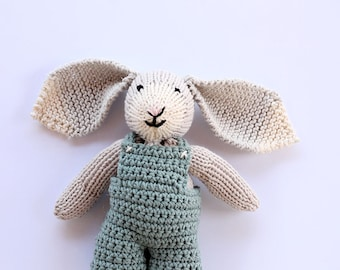 Bunny soft toy, bunny softie, bunny, bunny toy, baby knitting, baby gift, baby shower gift, baby boy, baby girl, bunny toys
