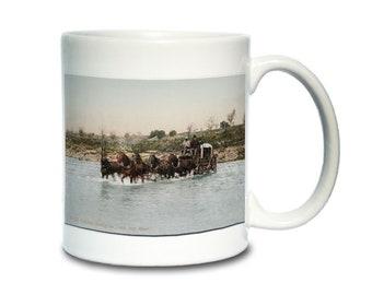 Coffee Mug; Stage Coach