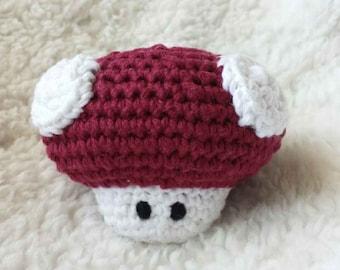 SALE! Super Mario Bros Power Up Crochet Amigurumi