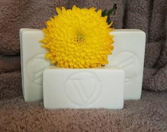 Plain Jane Soap-coldprocess-pure-6.5-7oz-diy-handmade